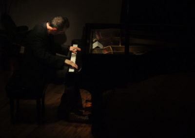 Christopher Culpo Piano Solo at l'Atelier de la Main d'Or in 2011. Photo by David Tepfer