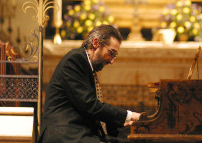 Christopher Culpo Solo Concert at the American Cathedral in Paris 2004 (3). Photo by GuyTillim