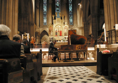 Christopher Culpo Solo Concert at the American Cathedral in Paris 2004 (2). Photo by GuyTillim