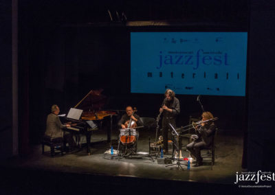 Succi Culpo Ensemble at Venice Jazz Fest in 2016 (2). Photo by Samuele Cherubini