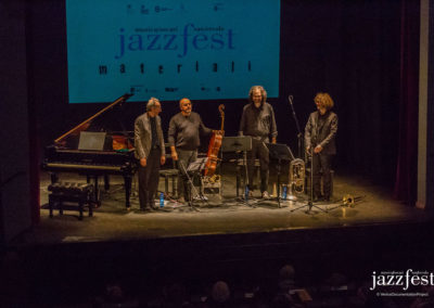 Succi Culpo Ensemble at Venice Jazz Fest in 2016. Photo by Samuele Cherubini